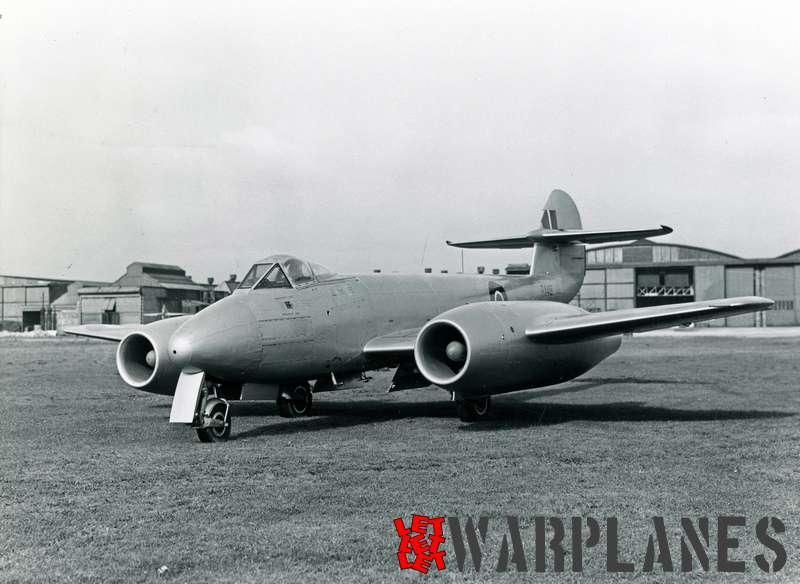Gloster Meteor F.4 R.R. Avon test bed RA491_1