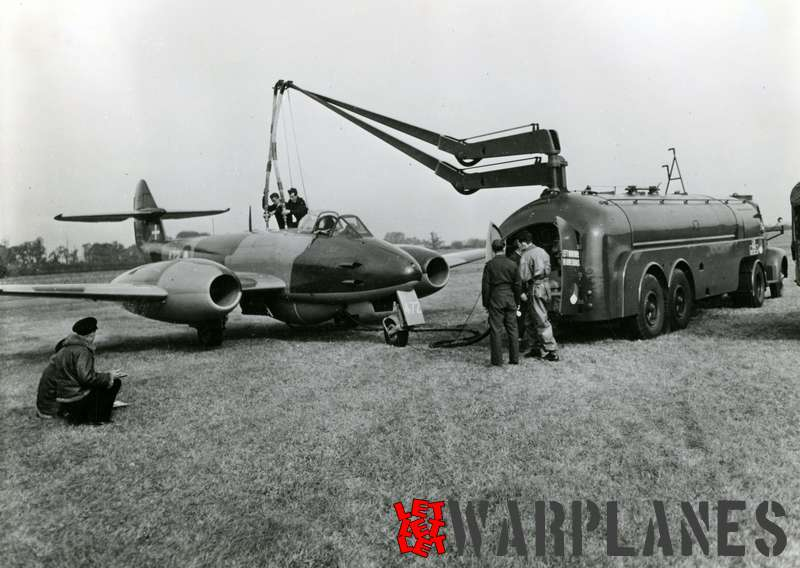 Gloster Meteor F.4 no. 472 Danish air force