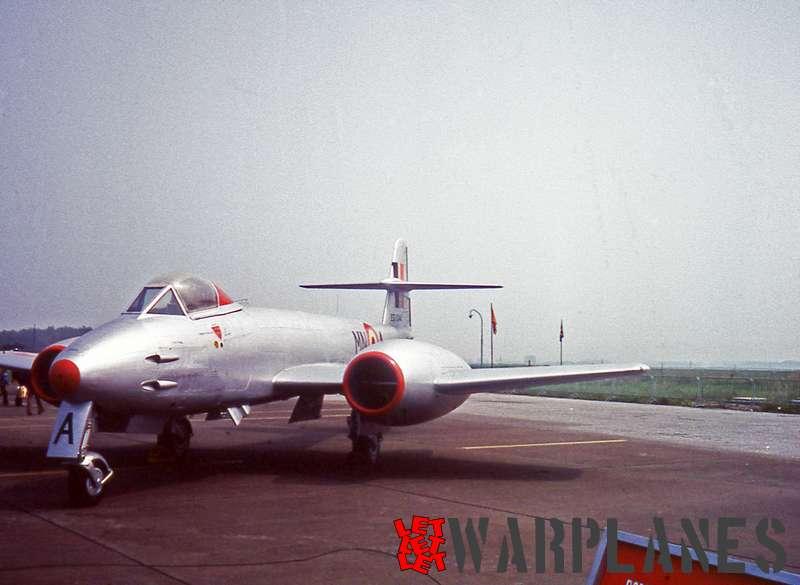 Gloster Meteor F.7 EG-244 Belgian AF