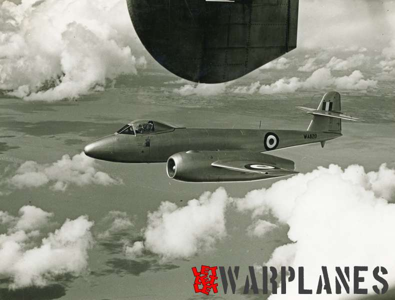 Gloster Meteor F.8 WA820 Armstrong Siddeley Sapphire test bed_1