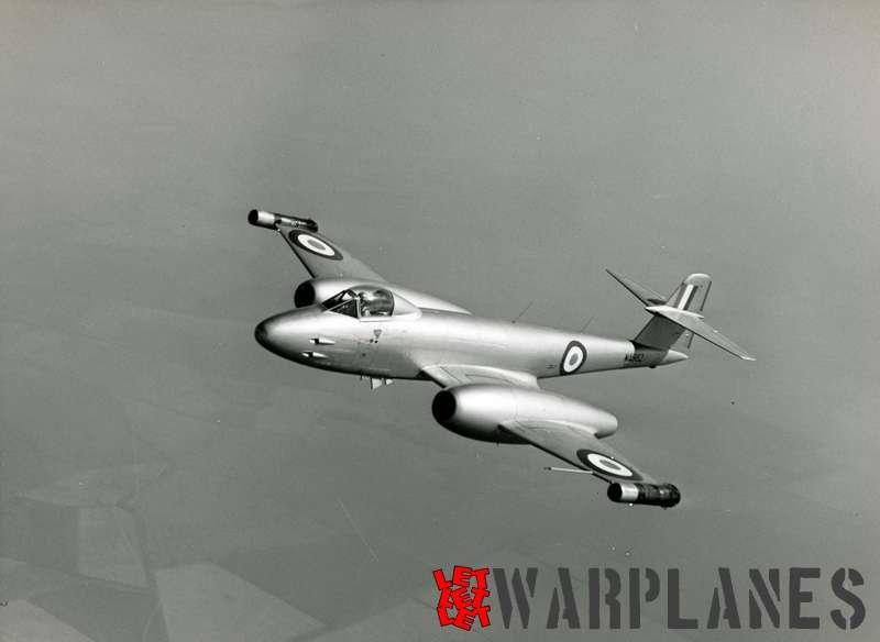 Gloster Meteor F.8 WA982 Rolls Royce Soar test bed_1