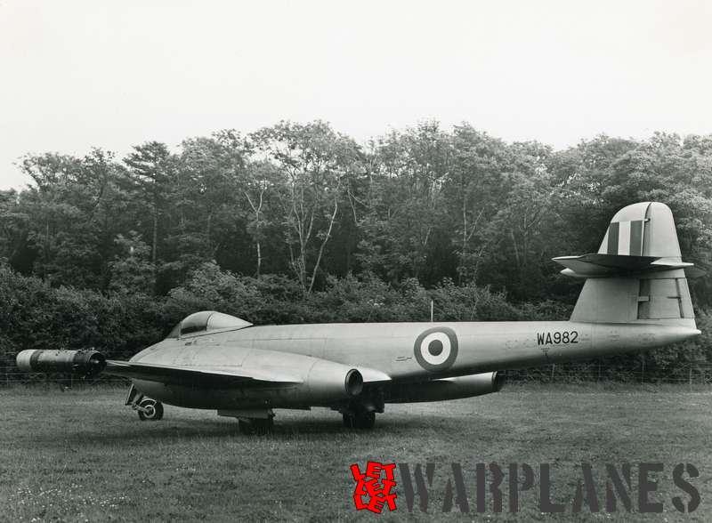 Gloster Meteor F.8 WA982 Rolls Royce Soar test bed_2