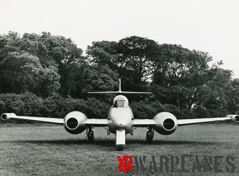 Gloster Meteor F.8 WA982 Rolls Royce Soar test bed_4
