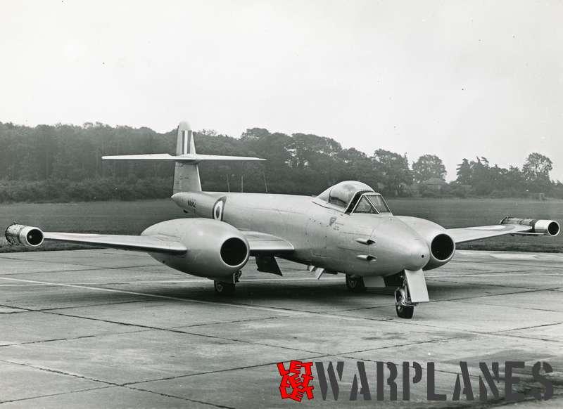 Gloster Meteor F.8 WA982 Rolls Royce Soar test bed_6
