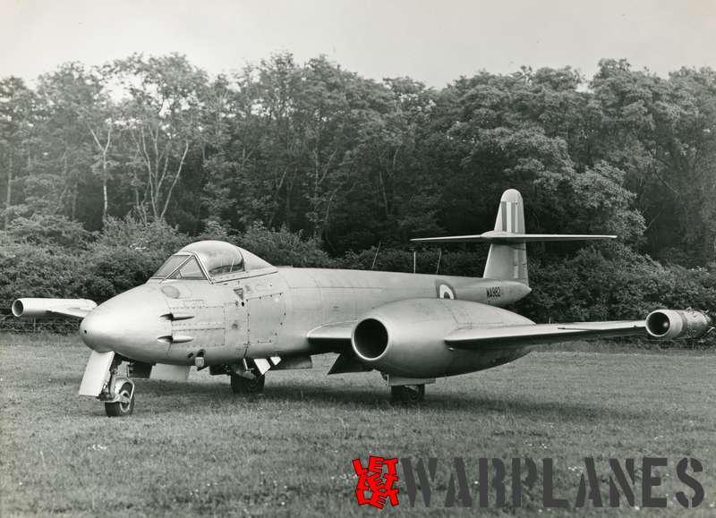 Gloster Meteor F.8 WA982 Rolls Royce Soar test bed_7