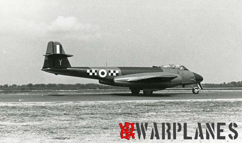 Gloster Meteor F.8 WM243
