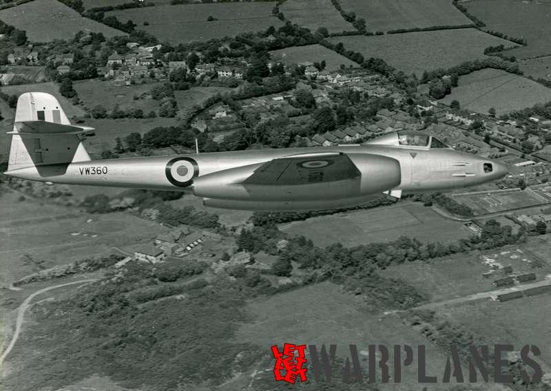 Gloster Meteor FR.9 VW360