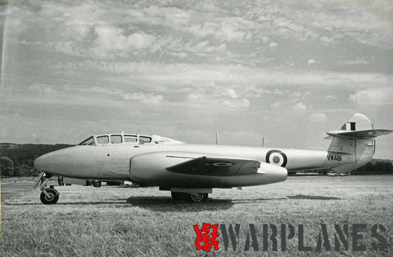 Gloster Meteor T.7 VW481