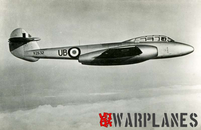 Gloster Meteor T.7 VZ632