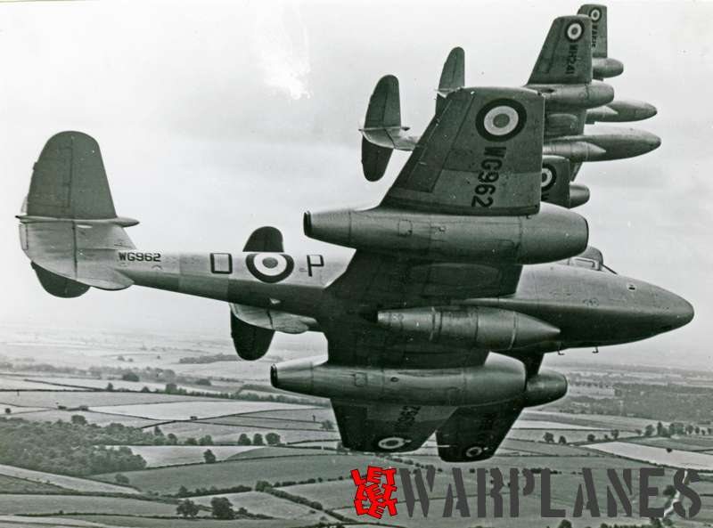 Gloster Meteor T.7 WG962