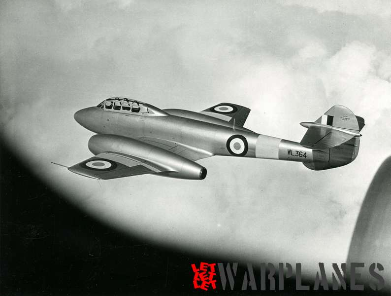 Gloster Meteor T.7 WL364