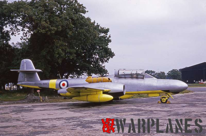 Gloster Meteor T.T.20 WM151 Royal Navy