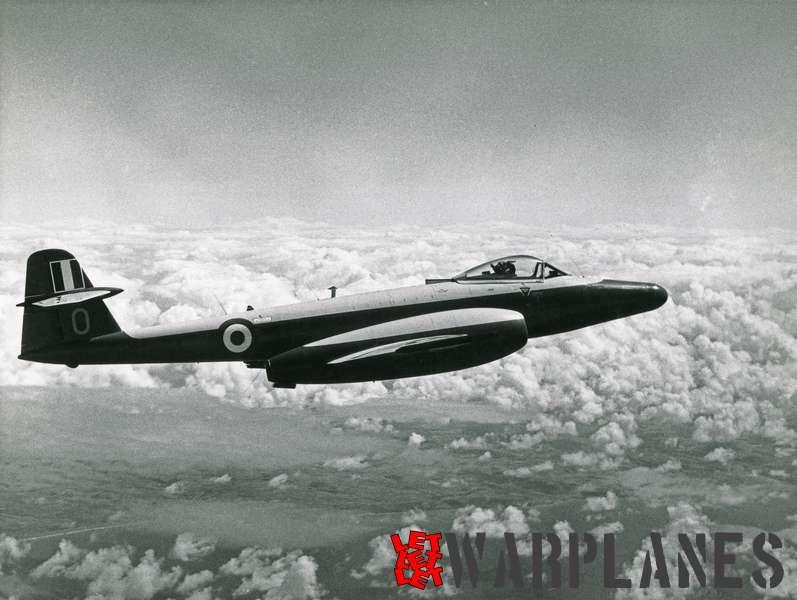 Gloster Meteor U.16 target drone WH344 (Flight Refuelling Ltd)
