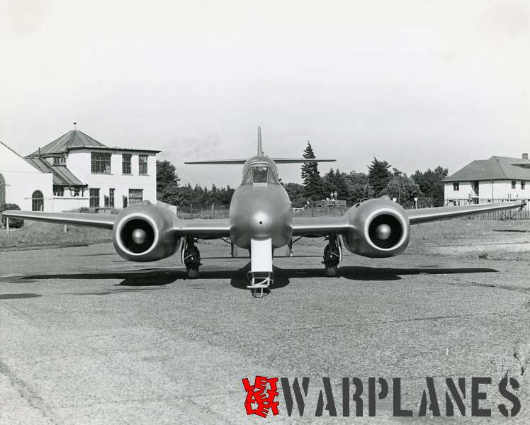 Gloster Meteor WA820 Armstrong Siddeley Sapphire test bed_4