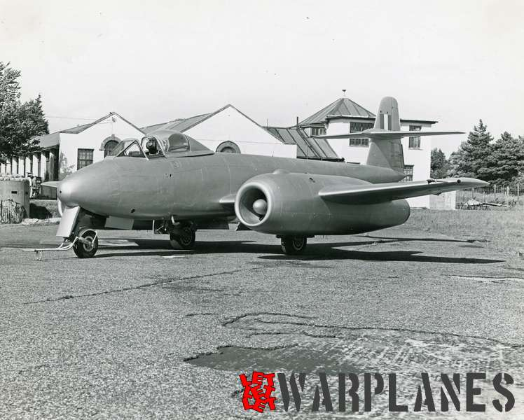 Gloster Meteor WA820 Armstrong Siddeley Sapphire test bed_5