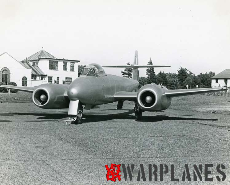 Gloster Meteor WA820 Armstrong Siddeley Sapphire test bed_6