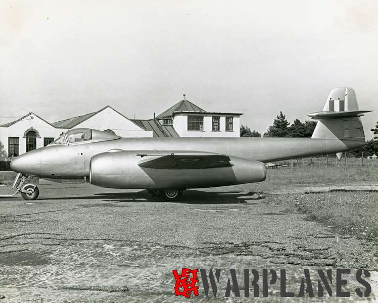 Gloster Meteor WA820 Armstrong Siddeley Sapphire test bed_7