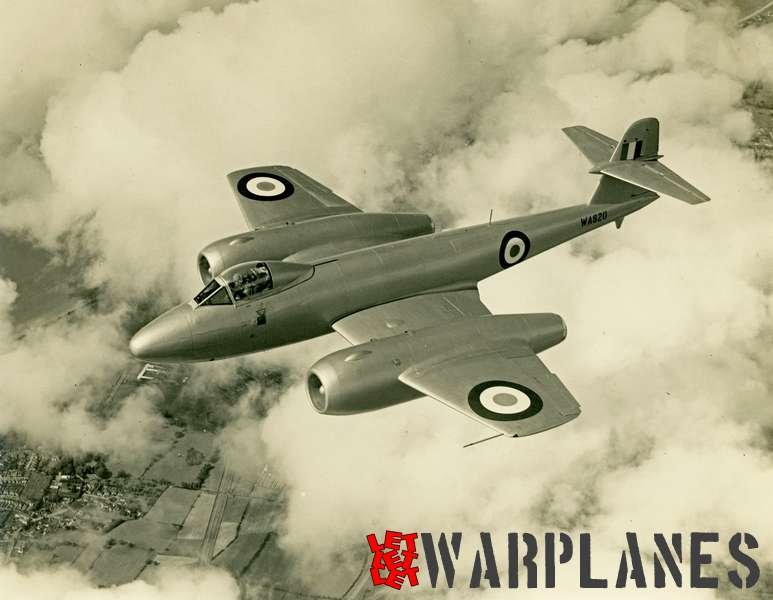 Gloster Meteor WA820 Armstrong Siddeley Sapphire test bed_8