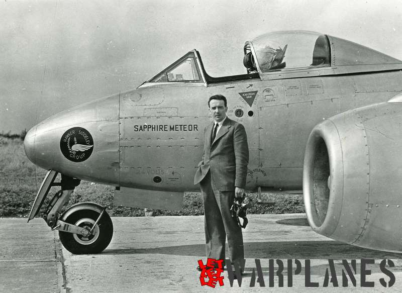 Gloster Meteor WA820 Armstrong Siddeley Sapphire test bed_9