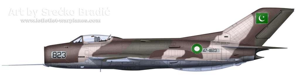07-Shenyang F-6 Pakistan 823