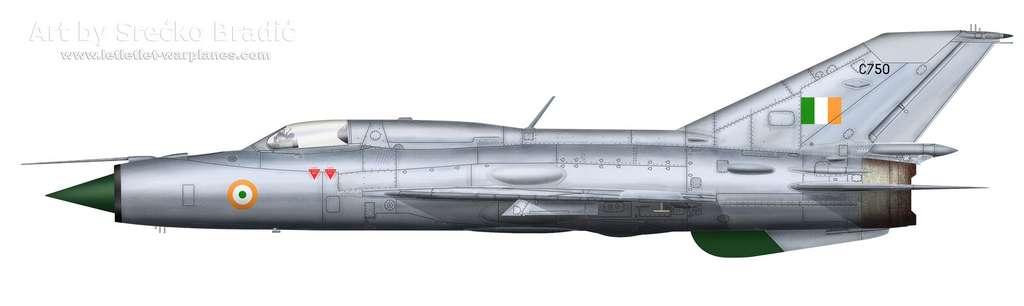 18-MiG-21PF India C750
