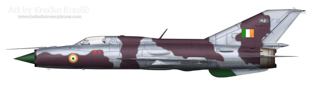 19-MiG-21PF India C731