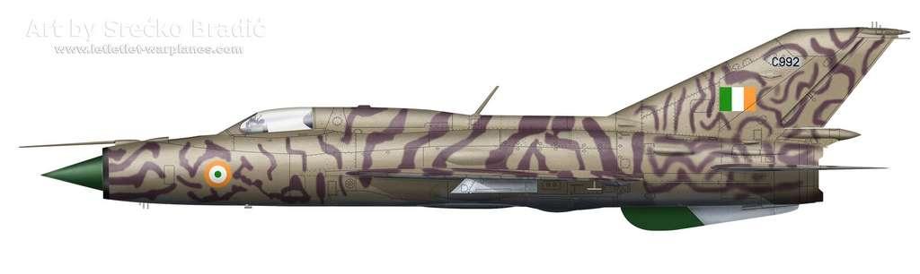20- MiG-21PF India C992