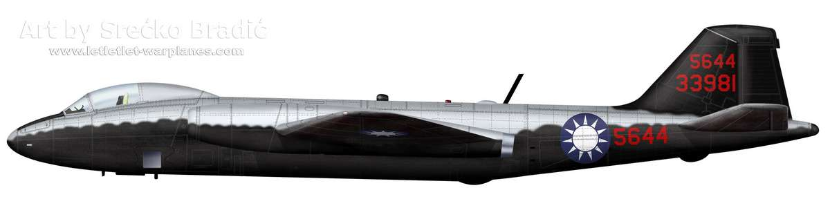 08-RB-57D Nationalist China