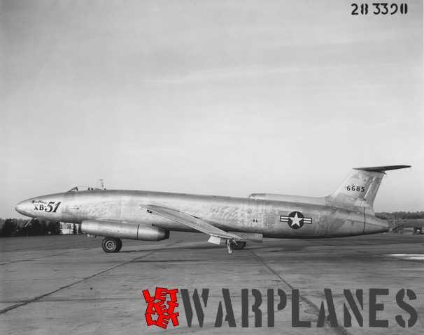 martin xb 51 let let let warplanes