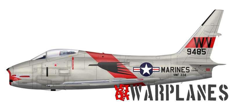 North American S Furies Let Let Let Warplanes