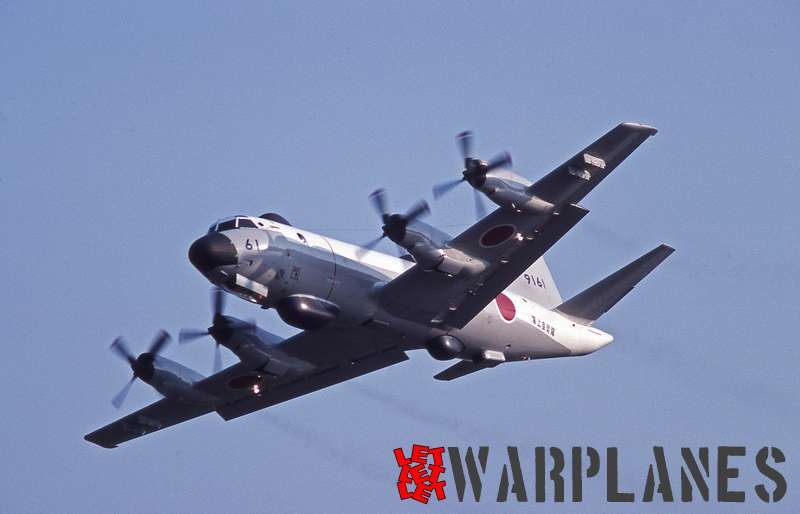 Lockheed (Kawasaki) UP-3D Orion No. 9161 JASDF
