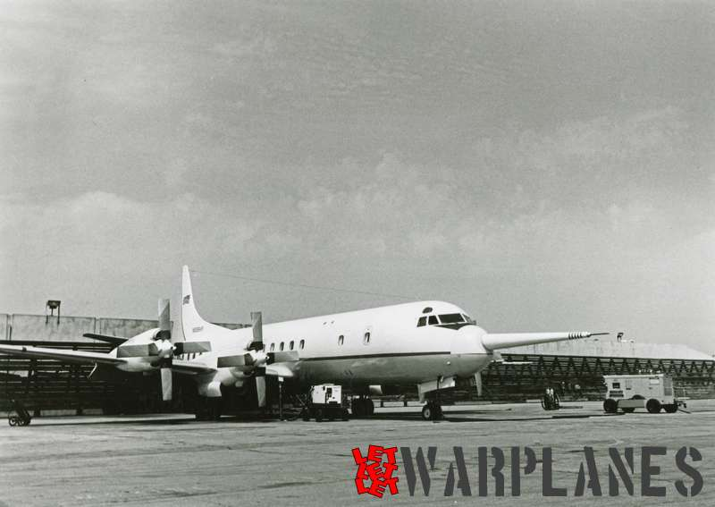 Lockheed L-188C Electra N595KR with nose probre National Centre for Atmospheric Research