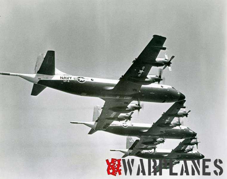 Lockheed P-3A Orion formation VP-8 with BuNo. 148886