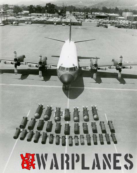 Lockheed P-3A Orion with weapons load
