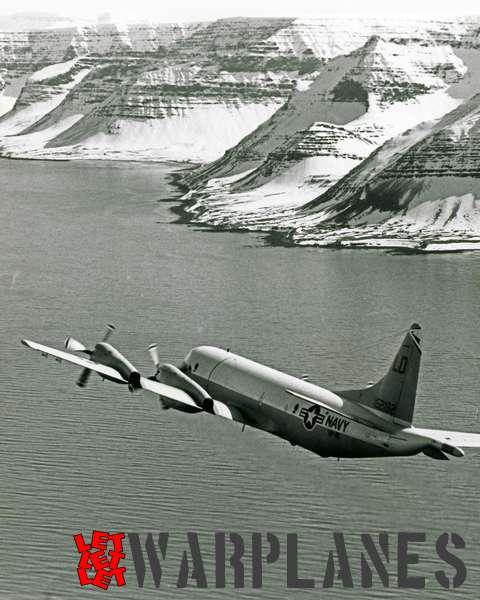 Lockheed P-3B Orion BuNo. 152182 of VP-40 flying over coast of Iceland_2
