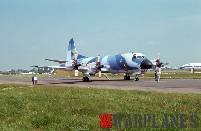Lockheed P-3F Orion No. 5-261 Imperial Iran air force (Le Bourget 1975)