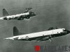 Lockheed P-3A Orion in formation with P2V-7 Neptune
