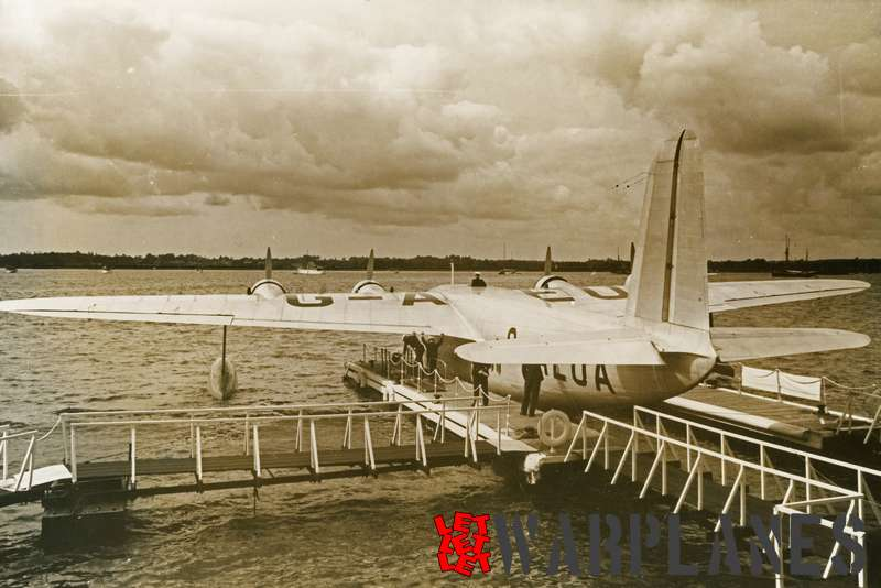 Short S.23 Empire G-AEUA 'Calypso' Imperial Airways