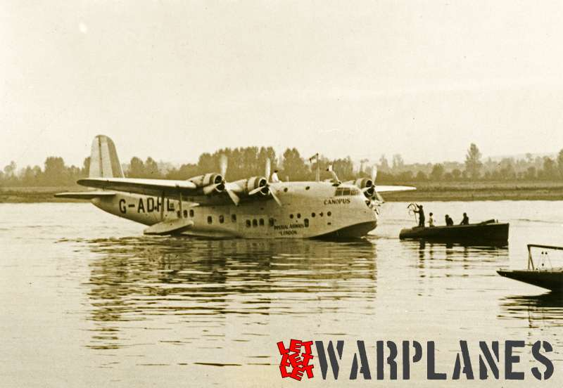 Short S.23C Empire G-ADHL 'Canopus' Imperial Airways_2