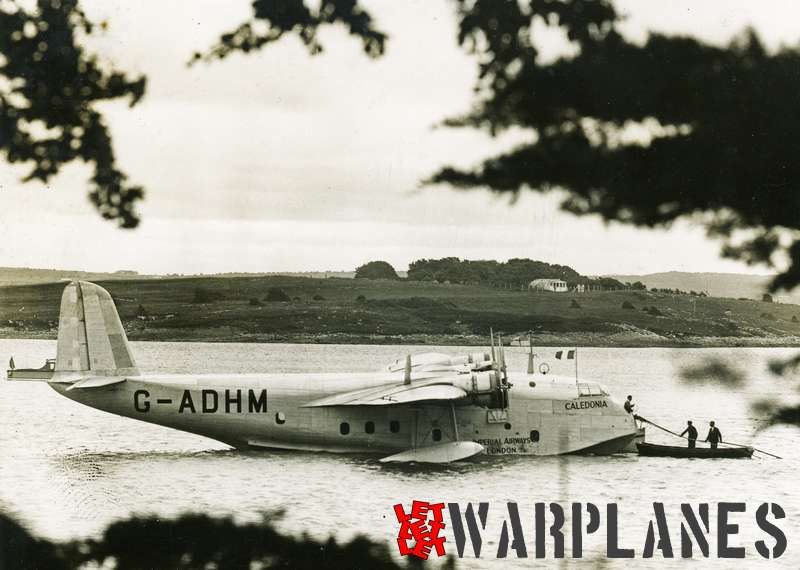 Short S.23C Empire G-ADHM 'Caledonia' Imperial Airways_2