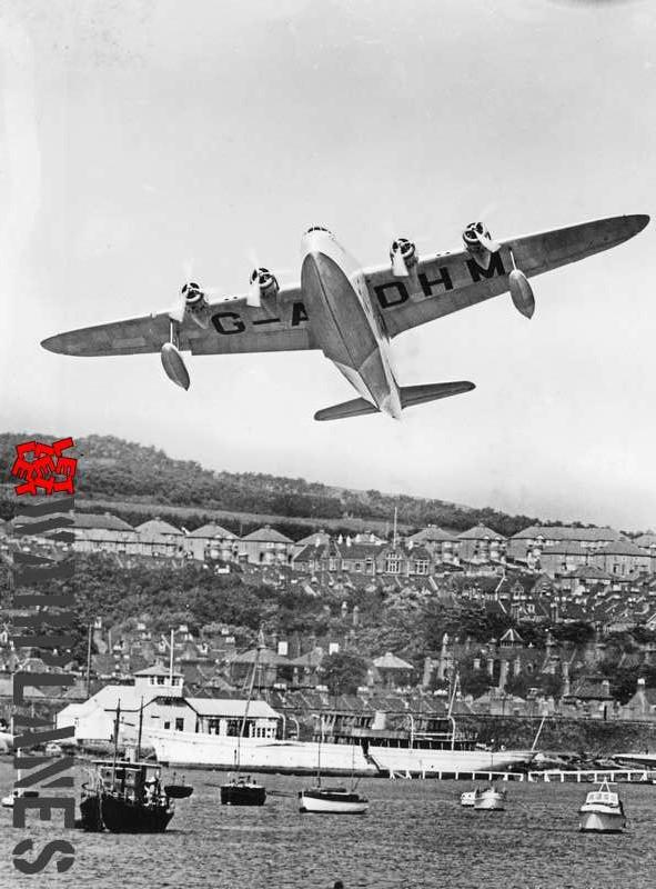 Short S.23C Empire G-ADHM 'Caledonia' Imperial Airways_3