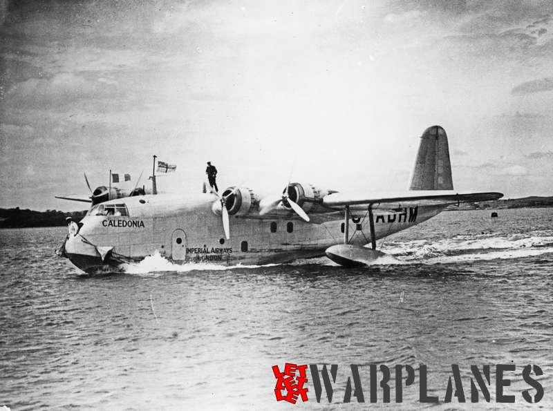 Short S.23C Empire G-ADHM 'Caledonia' Imperial Airways_5