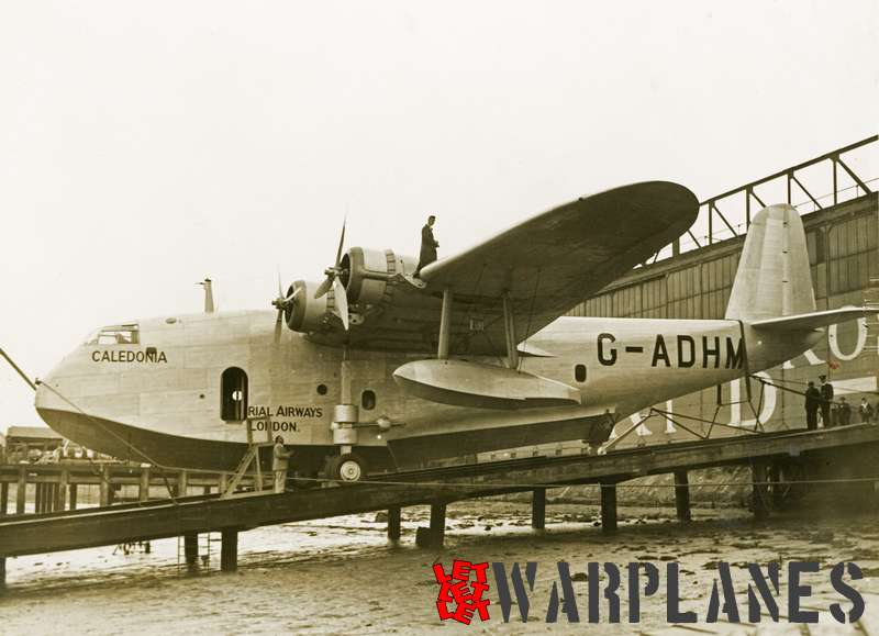 Short S.23C Empire G-ADHM 'Caledonia' Imperial Airways_6