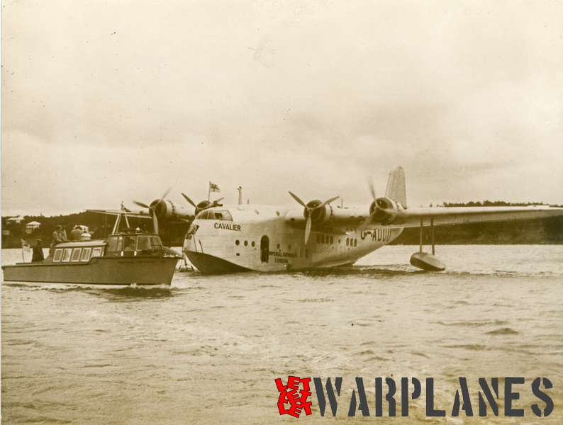 Short S.23C Empire G-ADUU 'Cavalier' Imperial Airways