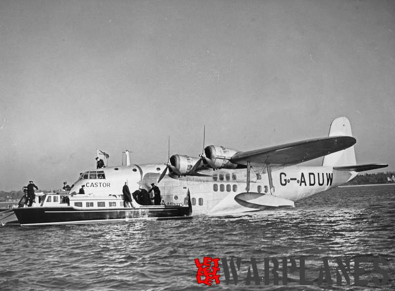 Short S.23C Empire G- ADUW 'Castor' Imperial Airways