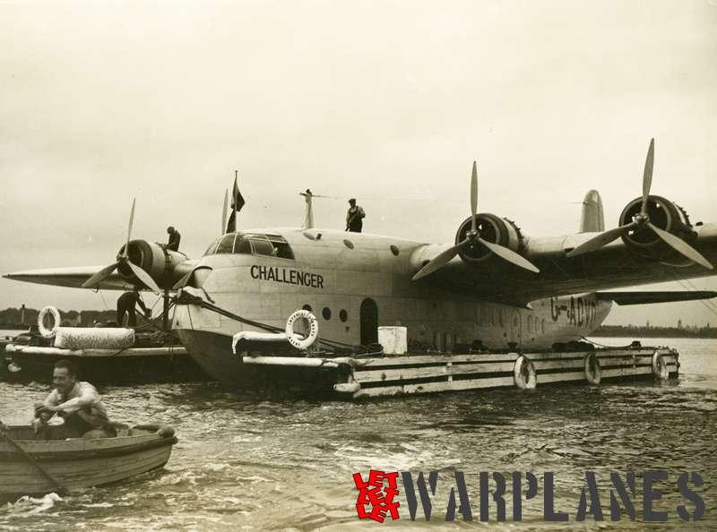 Short S.23C Empire G-ADVD 'Challenger' Imperial Airways_1