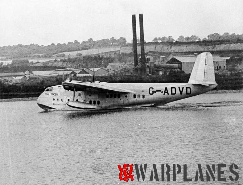 Short S.23C Empire G-ADVD 'Challenger' Imperial Airways_2