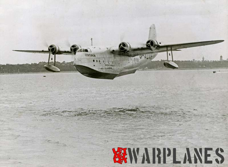 Short S.23C Empire G-ADVE 'Centurion' Imperial Airways
