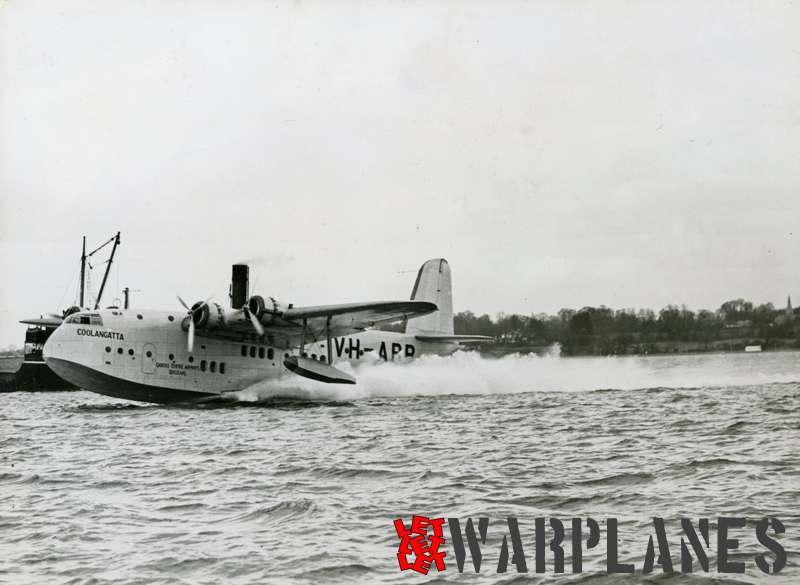 Short S.23C Empire VH-ABB 'Coolangatta' Qantas