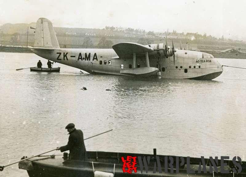 Short S.23C Empire ZK-AMA 'Aotearoa'